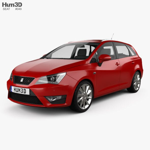 Seat Ibiza ST FR 2015 - 3DOcean Item for Sale