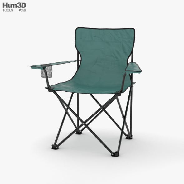 Camping Chair - 3DOcean Item for Sale