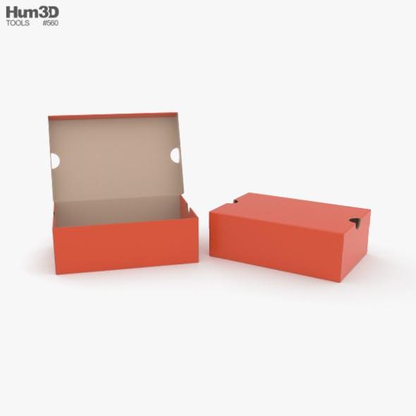 Shoe Box - 3DOcean Item for Sale