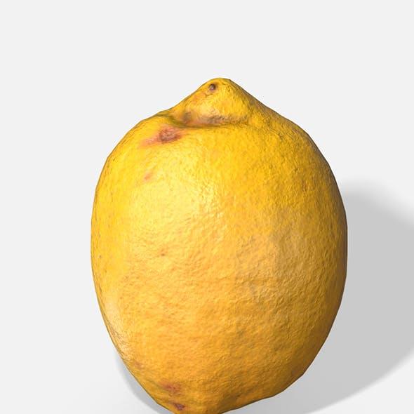 Fruit Lemon - Photoscanned PBR
