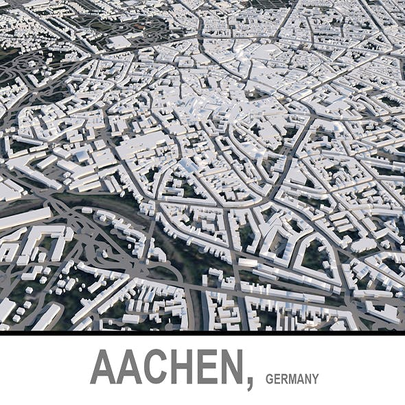 Aachen City in Germany