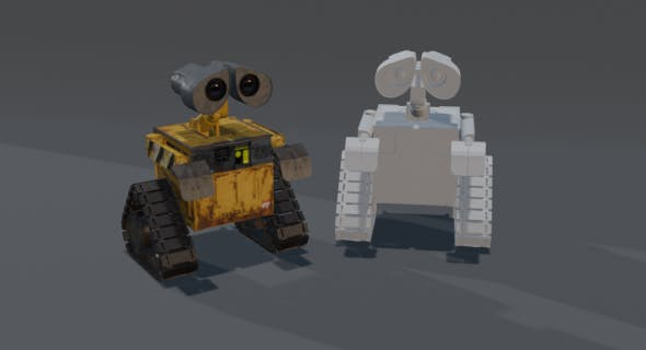 WALL-E 3dmodel - 3DOcean Item for Sale