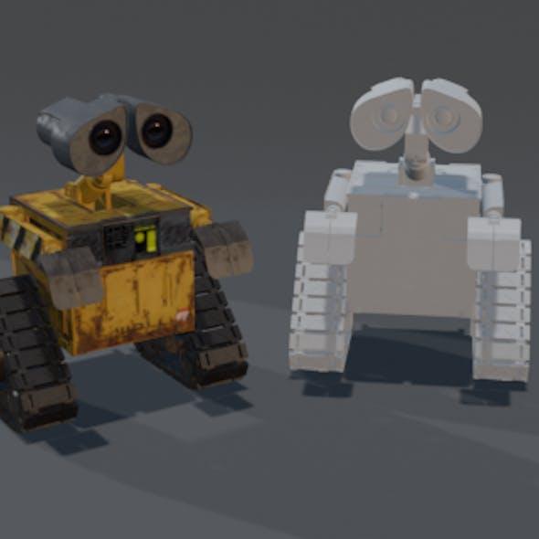 WALL-E 3dmodel