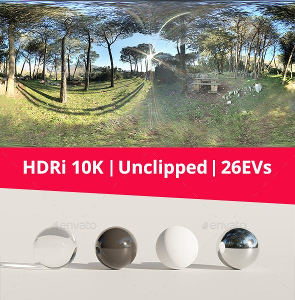 HDRi - Woods - 3DOcean Item for Sale