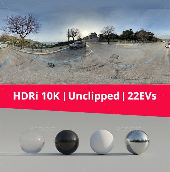 HDRi - Parking, Landscape and Sunset - 3DOcean Item for Sale