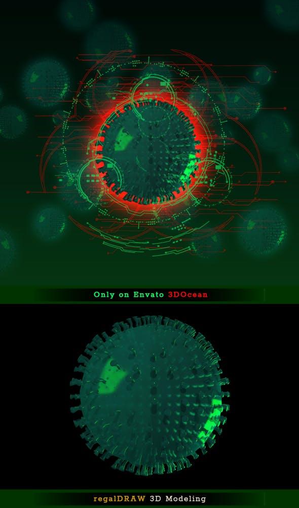 Corona Virus - 3DOcean Item for Sale