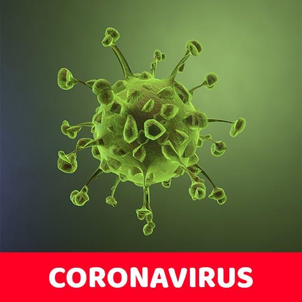 Coronavirus - 3DOcean Item for Sale