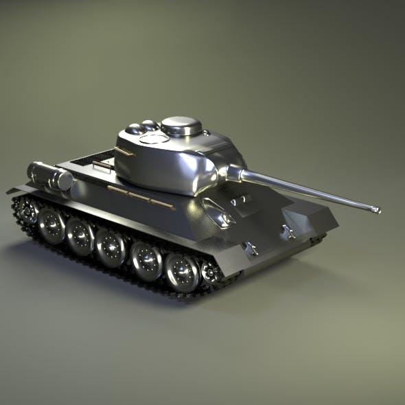 Tank T-34-85 - 3DOcean Item for Sale