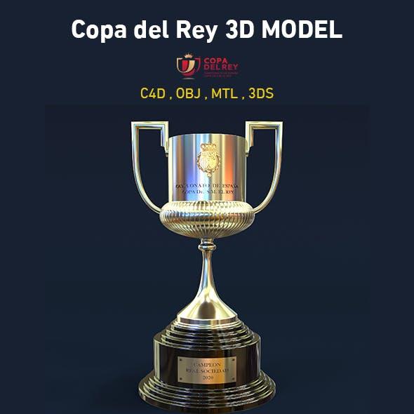 Copa del Rey 3D Model - 3DOcean Item for Sale