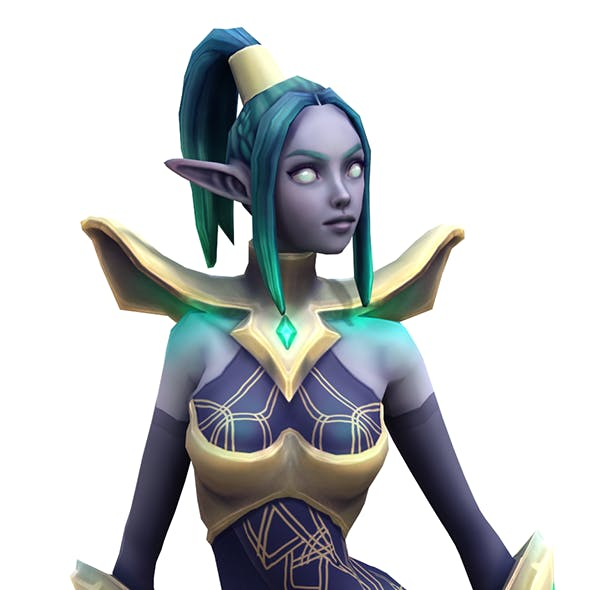 Night elf - 3DOcean Item for Sale