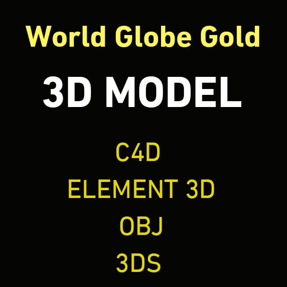 World Globe Gold