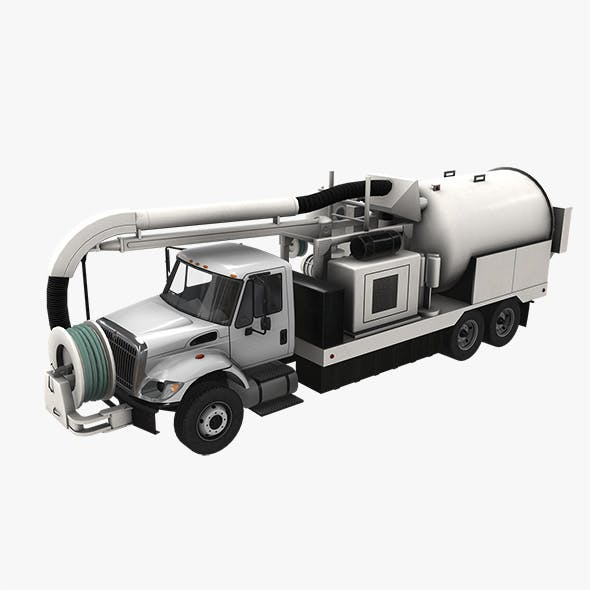 Jetter Truck International 7400