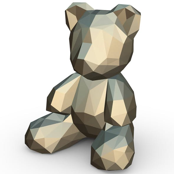 Bear figure - 3DOcean Item for Sale