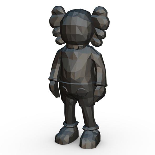 Kaws figure - 3DOcean Item for Sale