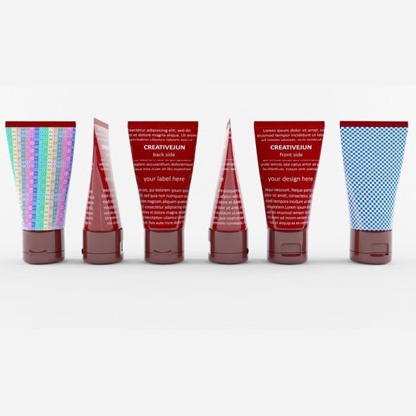 19_Cosmetic Cream Tubes - 3DOcean Item for Sale