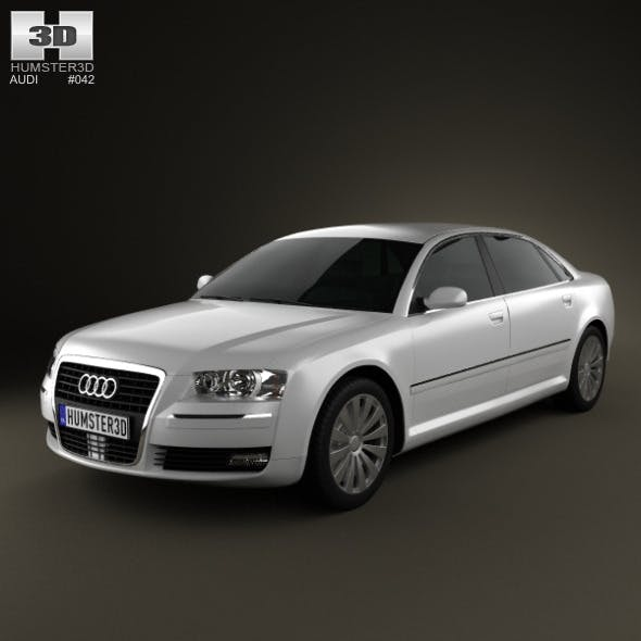 Audi A8 2009 - 3DOcean Item for Sale