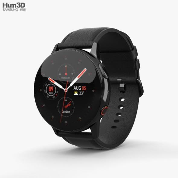 Samsung Galaxy Watch Active 2 40mm Stainless Steel Black
