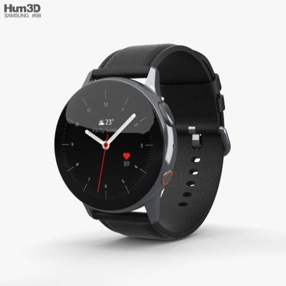 Samsung Galaxy Watch Active 2 40mm Stainless Steel Silver