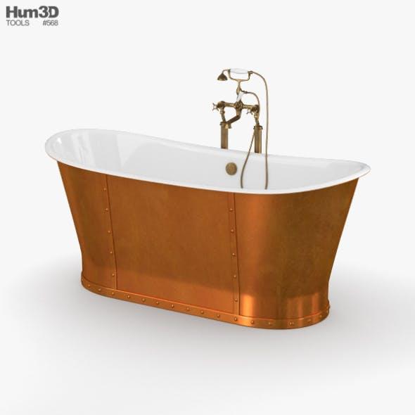 CP Hart Porcelanosa Greenwich Boat Bath - 3DOcean Item for Sale