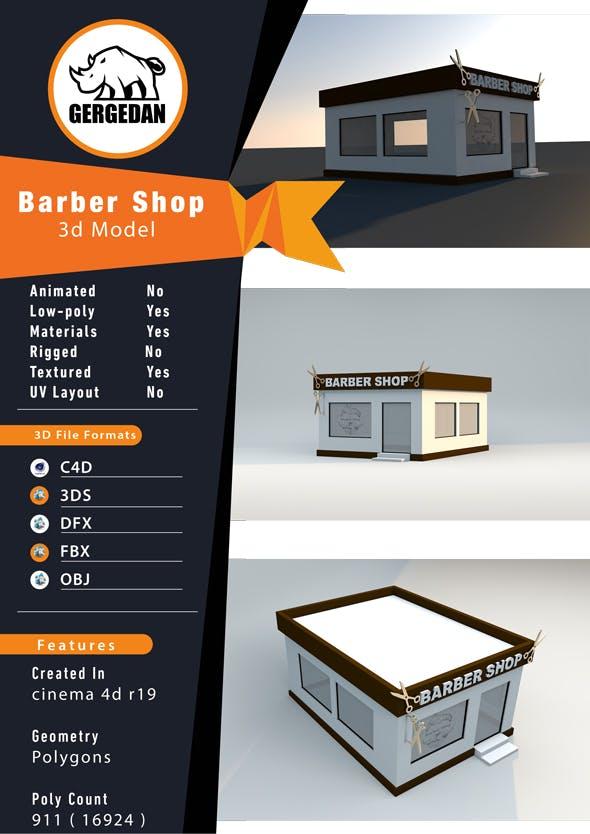 Barber Shop - 3DOcean Item for Sale
