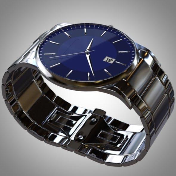 Analogue Stainless Steel Wrist Watch