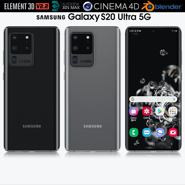 Samsung Galaxy S20 Ultra 5G All colors