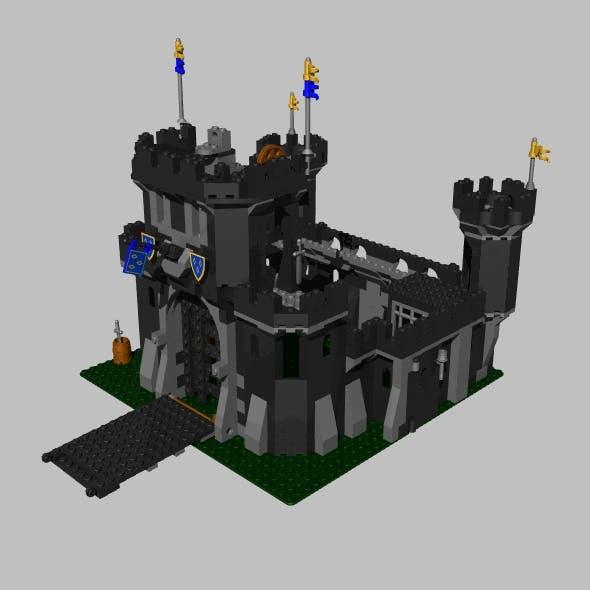 LEGO black castle