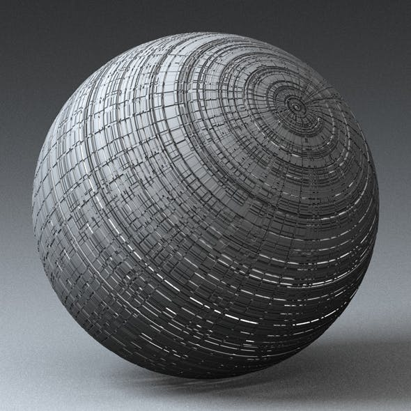 Syfy Displacement Shader B_004 - 3DOcean Item for Sale