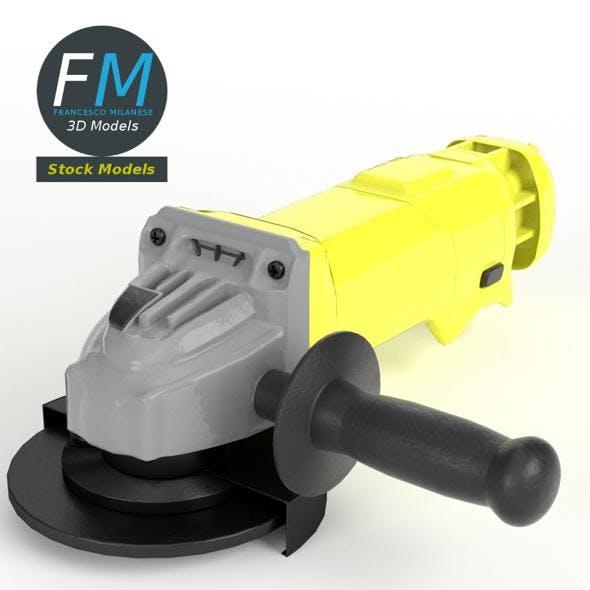 Angle grinder - 3DOcean Item for Sale