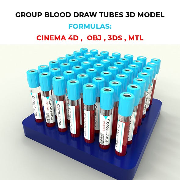 Group Blood Draw Tubes