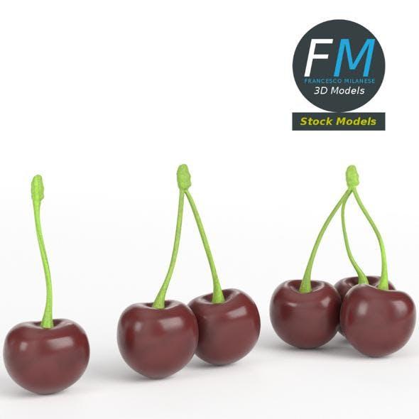 Cherries - 3DOcean Item for Sale