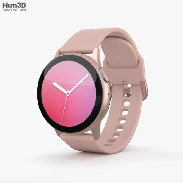 Samsung Galaxy Watch Active 2 40mm Aluminium Pink Gold