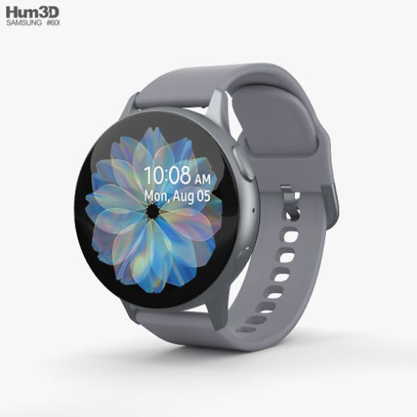 Samsung Galaxy Watch Active 2 44mm Aluminium Cloud Silver
