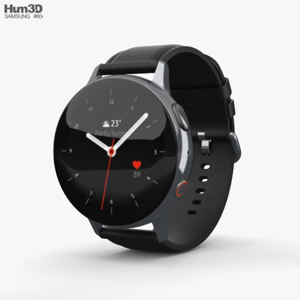 Samsung Galaxy Watch Active 2 44mm Stainless Steel Silver