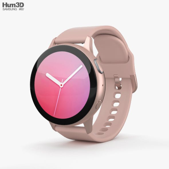 Samsung Galaxy Watch Active 2 44mm Aluminium Pink Gold