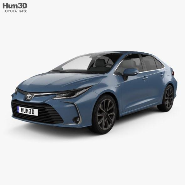 Toyota Corolla Hybrid sedan 2019