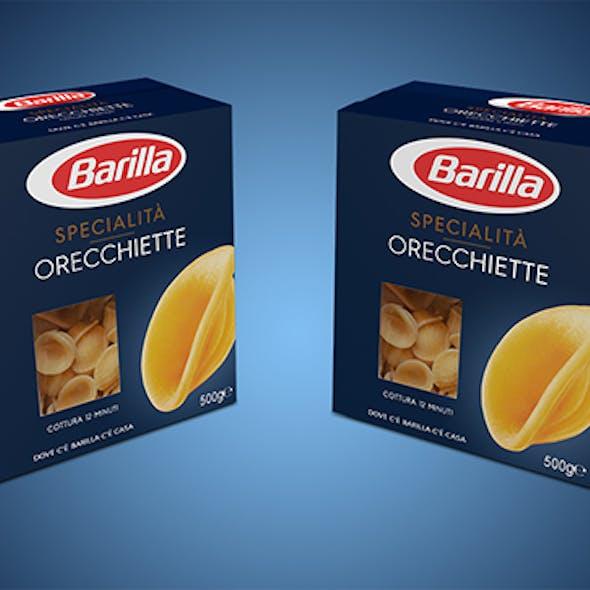 Orecchiette Barilla Italian pasta
