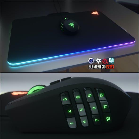 Razer Naga Chroma Computer Mouse