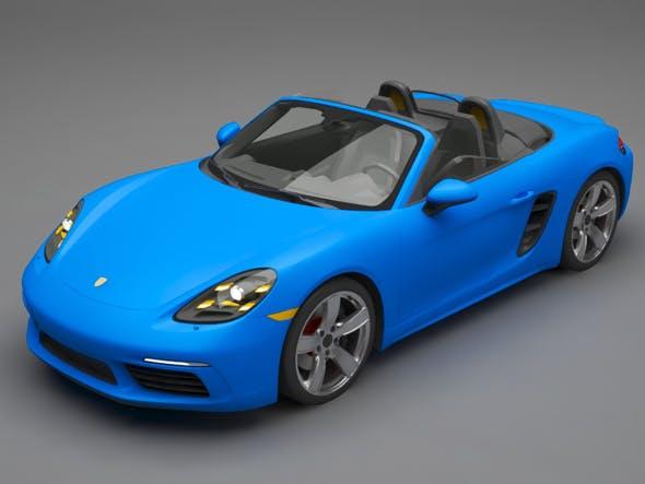 Porsche 718 Boxster S - 3DOcean Item for Sale