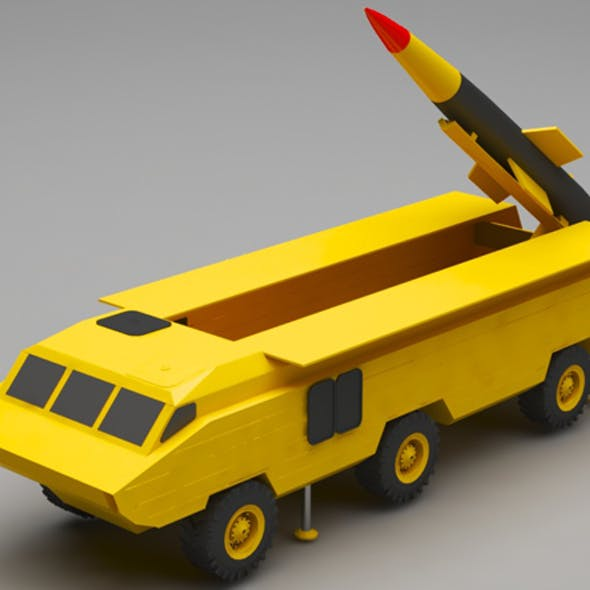 military missile truck