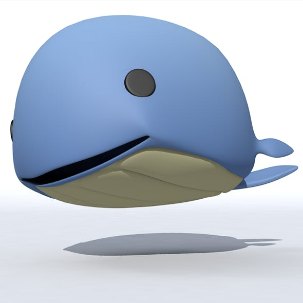 Fish cartoon Whales - 3DOcean Item for Sale