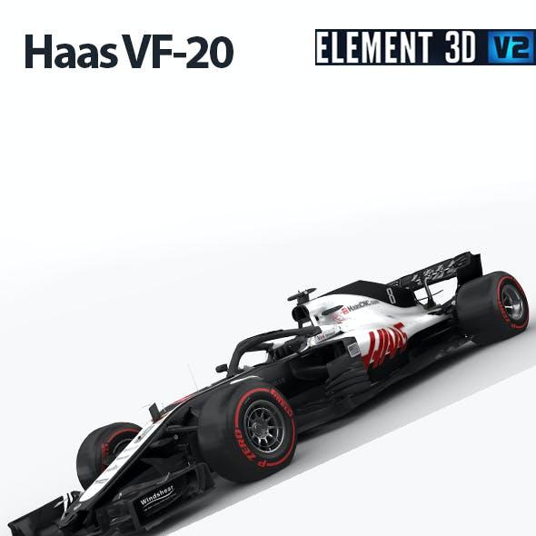 F1 Haas VF-20 2020