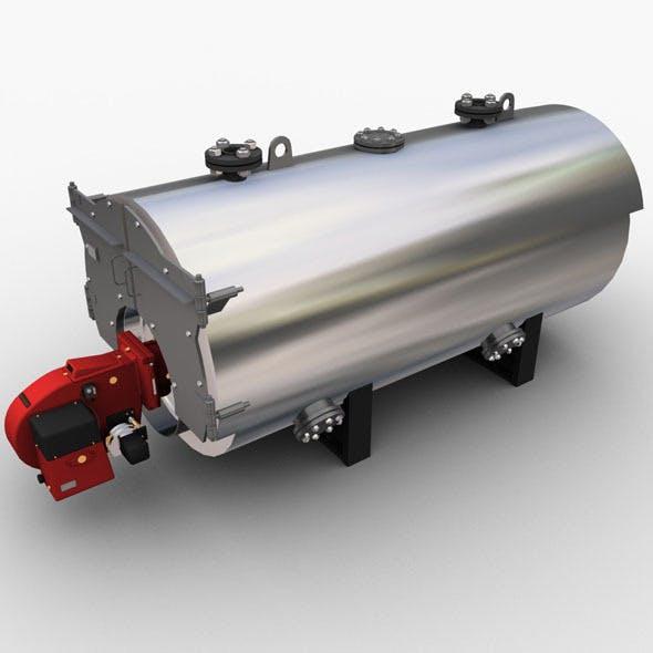 Gas Boiler - 3DOcean Item for Sale