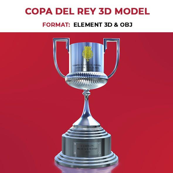 Copa del Rey 3D Model E3D Format