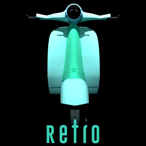 Retro 3D Model