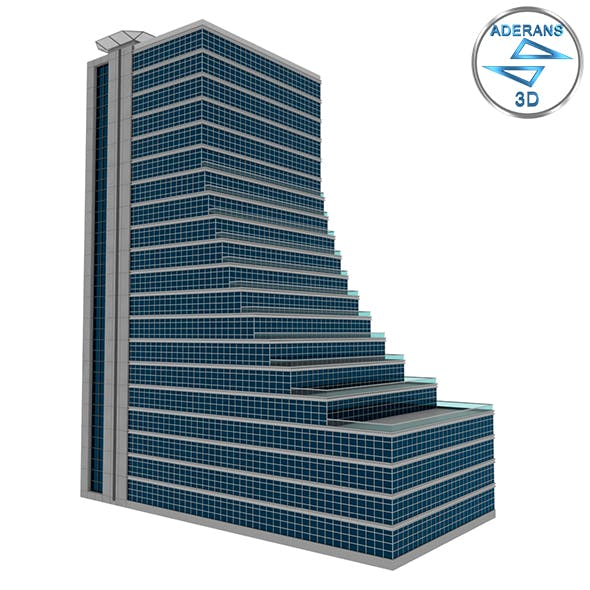 Simple Skyscraper Model with Terraces