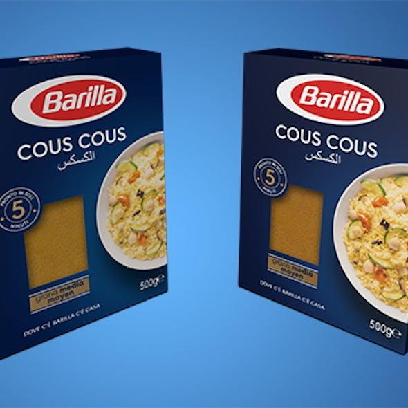 Cous Cous  Barilla italian brand