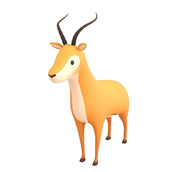 Cartoon Antelope