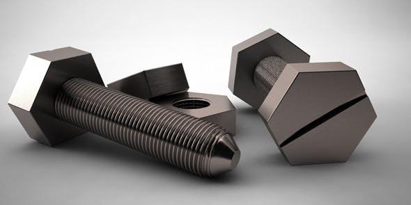 Screw - 3DOcean Item for Sale