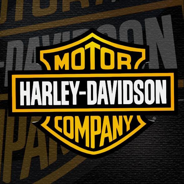USA Motorcycle Emblem